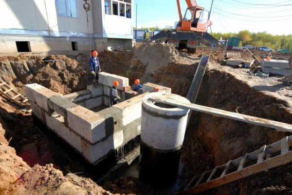 Сборные конструкции водопроводов и канализации