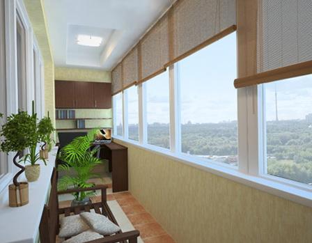 Утепленный балкон или лоджия от компании Atlant