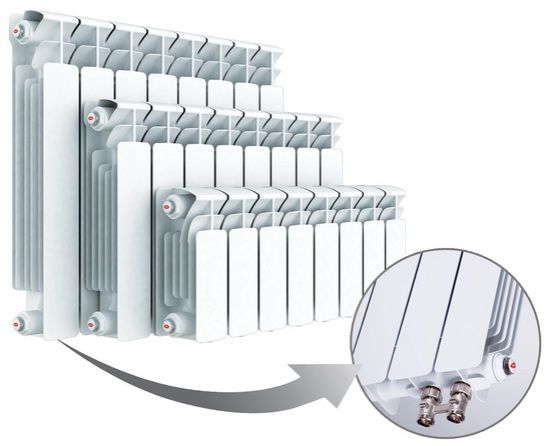 Радиаторы отопления биметаллические