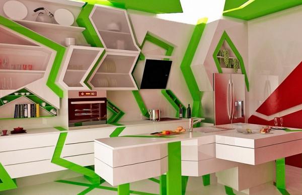 Стильная кухня - дизайн