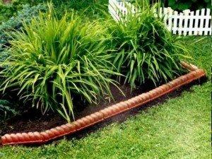Как правильно выбрать садовый бордюр