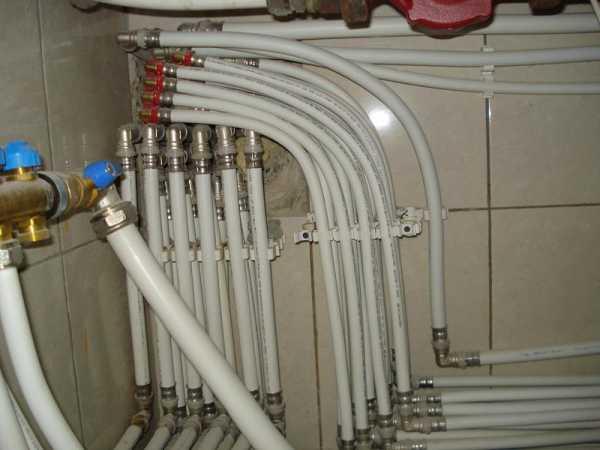 Монтаж и замена водопровода