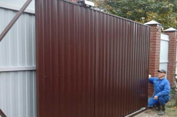 Как сделать ремонт ворот