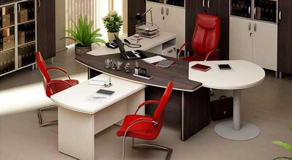 В кабинете должна быть соблюдена однотонная цветовая гамма