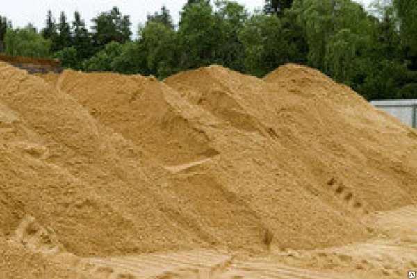 Песок - разновидности и применение