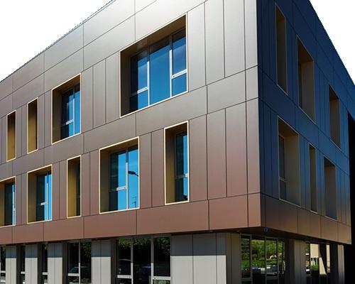 Популярные вентилируемые фасады