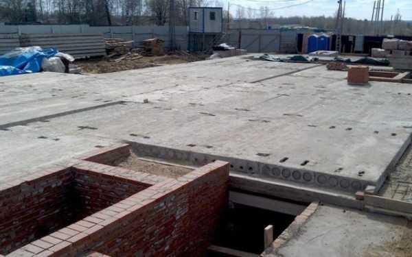 Фундамент и плиты перекрытия для кирпичного дома