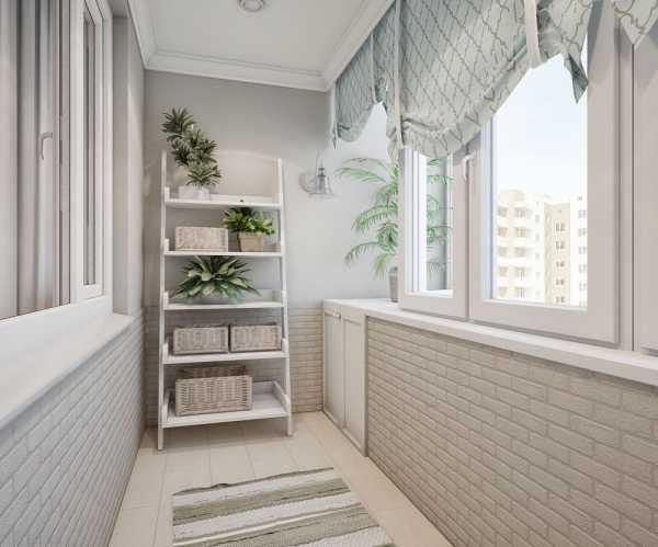 Обшивка для лоджии или балкона