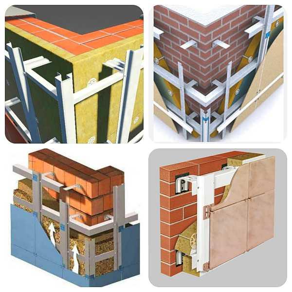 Фасадные системы для облицовки зданий