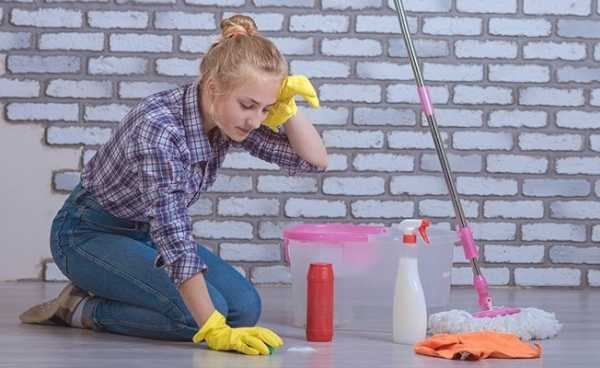 Ремонт и уборка поэтапно