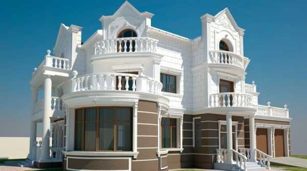 Обзор фасадного декора